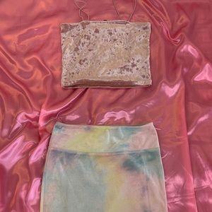 Velvet Tye Dye 2pcs